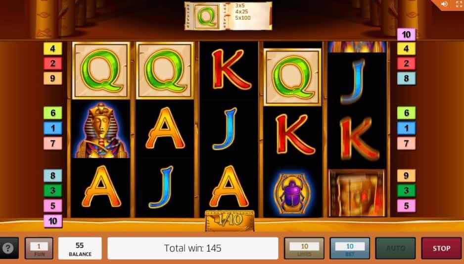 Oltre al gioco normale, a Book of Ra hai la possibilità di vincere delle partite bonus