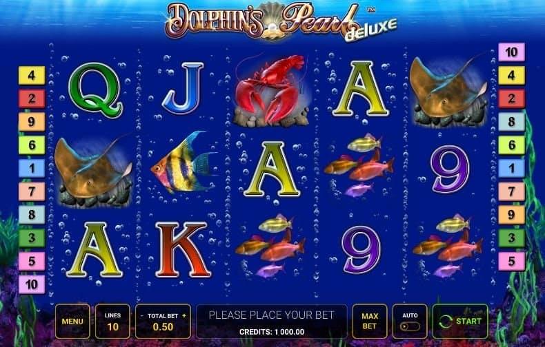 I simboli della slot online Dolphin Pearl Deluxe