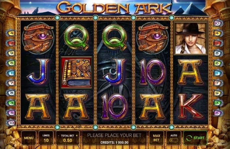 I simboli della slot online Golden Ark