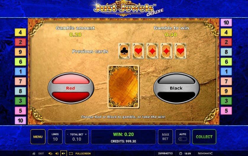 Oltre al gioco normale, a Just Jewels Deluxe hai la possibilità di vincere delle partite bonus