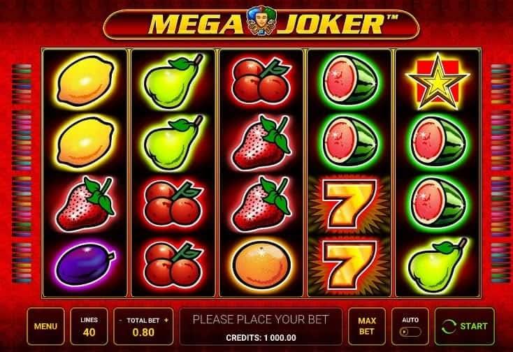 I simboli della slot online Mega Joker