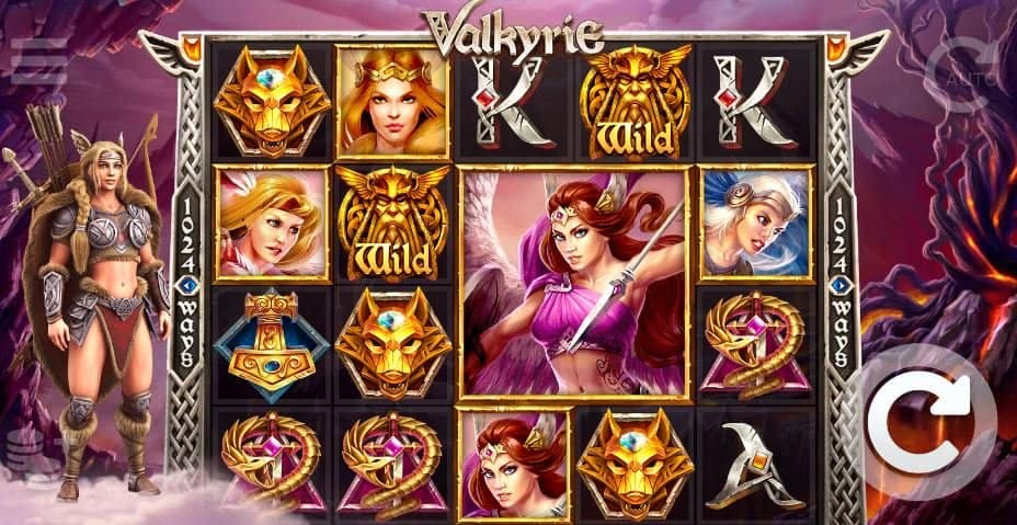 I simboli della slot online Valkyrie