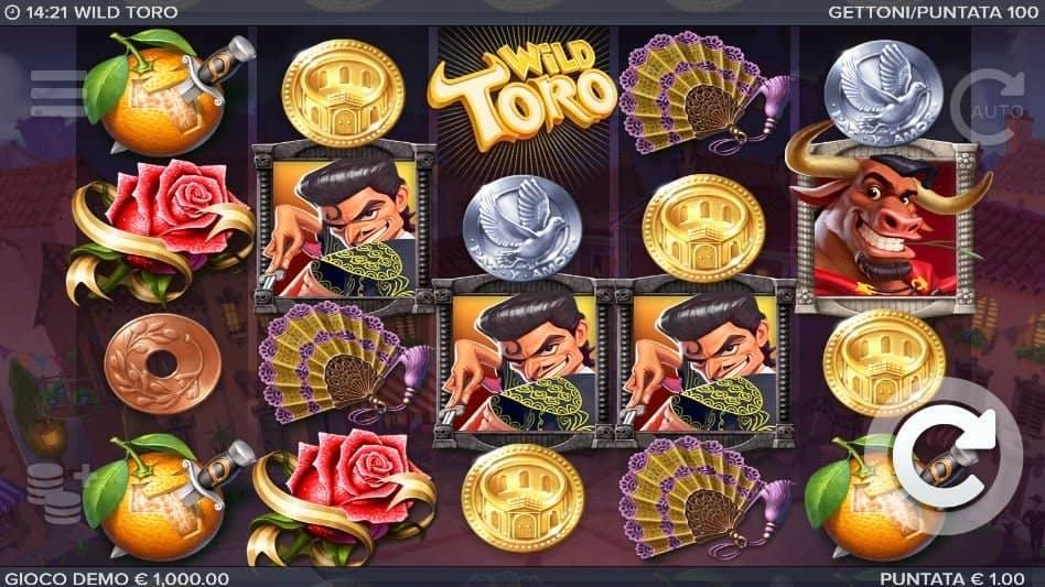 I simboli della slot online Wild Toro