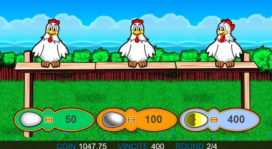 Oltre al gioco normale, a 4 Fowl Play hai la possibilità di vincere delle partite bonus
