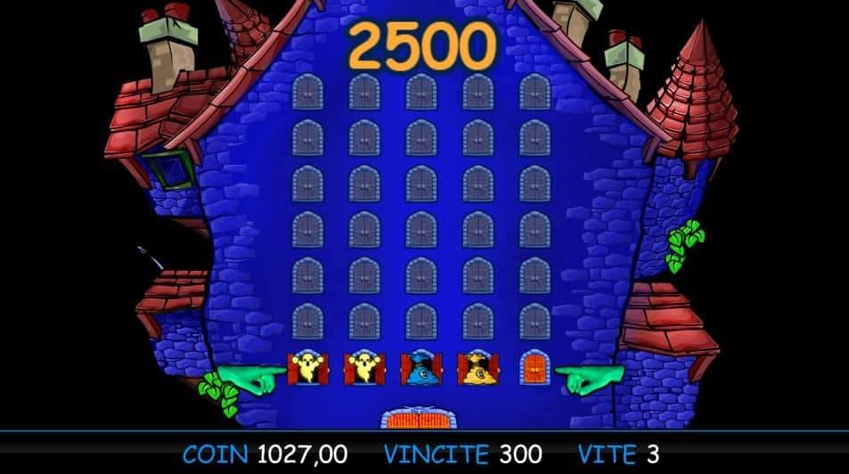 Oltre al gioco normale, a Haunted House hai la possibilità di vincere delle partite bonus