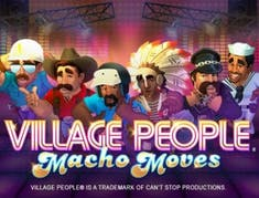 Village People Macho Moves logo