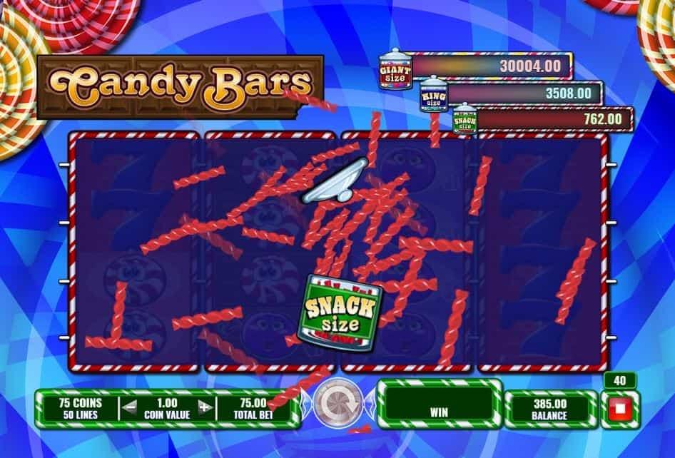 Oltre al gioco normale, a Candy Bars hai la possibilità di vincere delle partite bonus