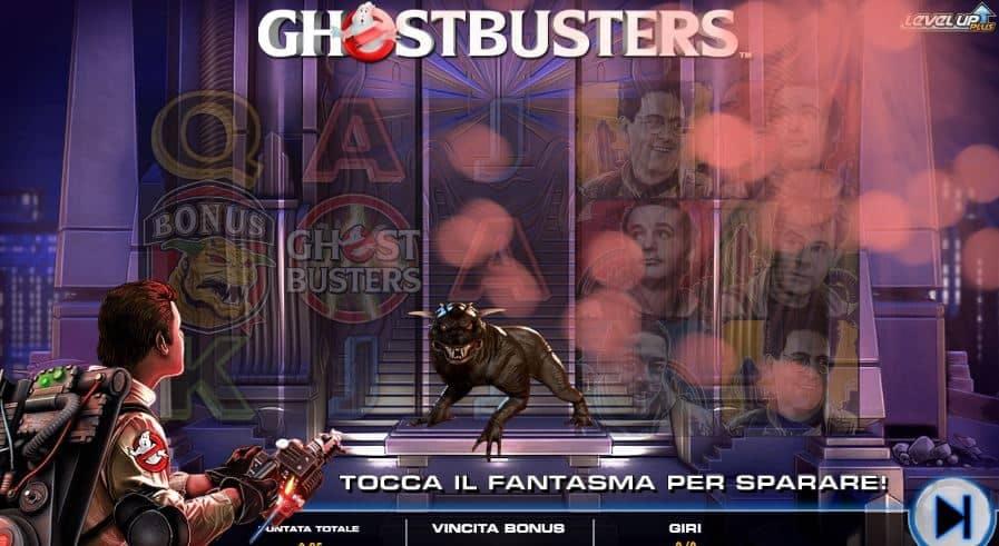 Oltre al gioco normale, a Ghostbusters Plus hai la possibilità di vincere delle partite bonus