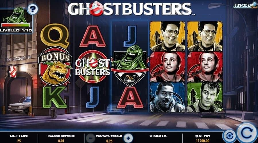 I simboli della slot online Ghostbusters Plus