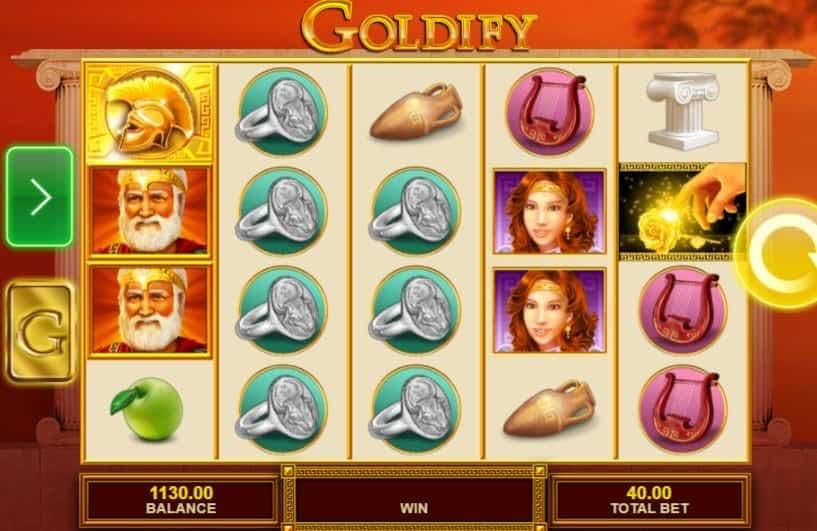 I simboli della slot online Goldify