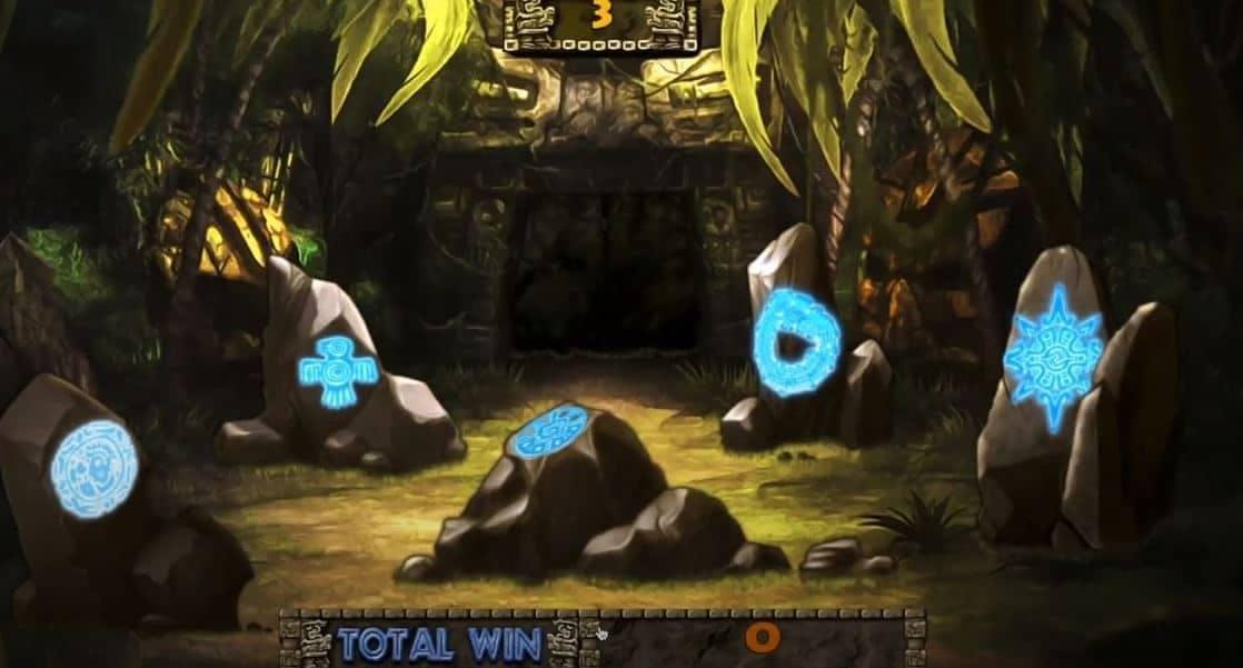 Oltre al gioco normale, a Mayan Temple Advance hai la possibilità di vincere delle partite bonu