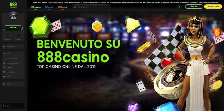 Slot machines su 888 Casino