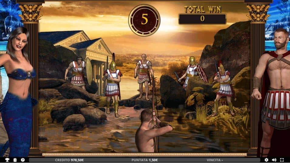 Oltre al gioco normale, a Ulisse hai la possibilità di vincere delle partite bonus