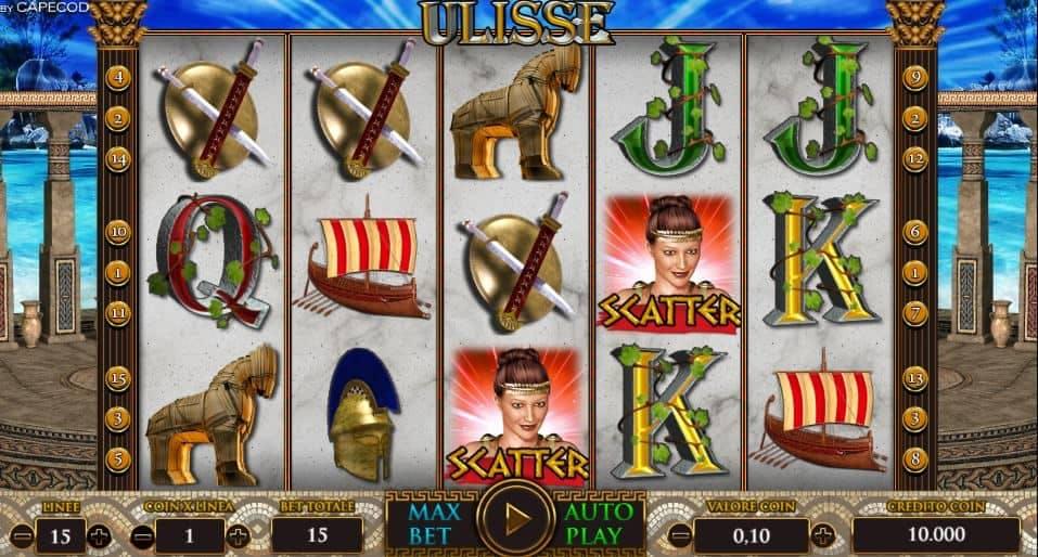 I simboli della slot online Ulisse