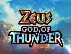 Zeus God of Thunder logo