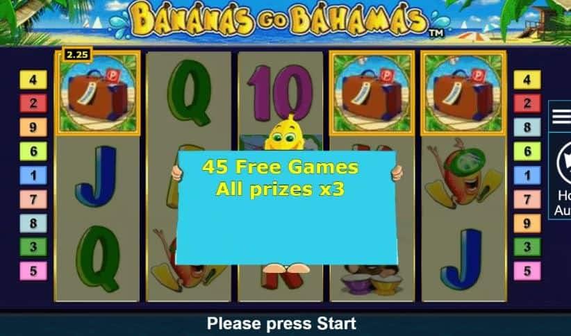 Oltre al gioco normale, a Bananas Go Bahamas hai la possibilità di vincere delle partite bonus