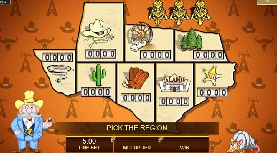 Oltre al gioco normale, a Texas Tea hai la possibilità di vincere delle partite bonus