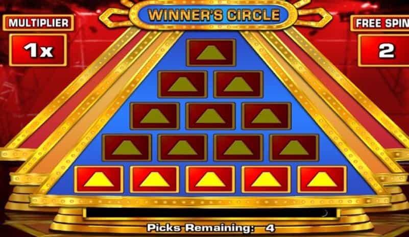 Oltre al gioco normale, a The 100,000 Pyramid hai la possibilità di vincere delle partite bonus