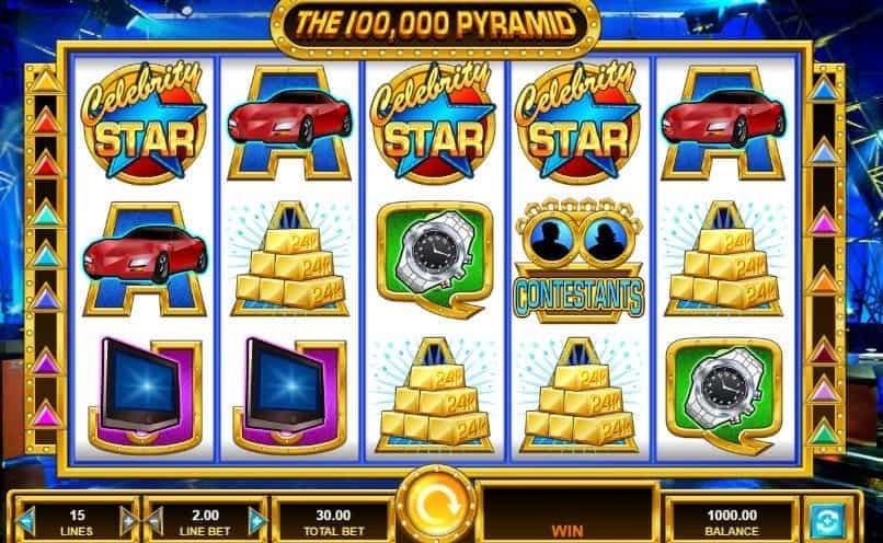 I simboli della slot online The 100,000 Pyramid