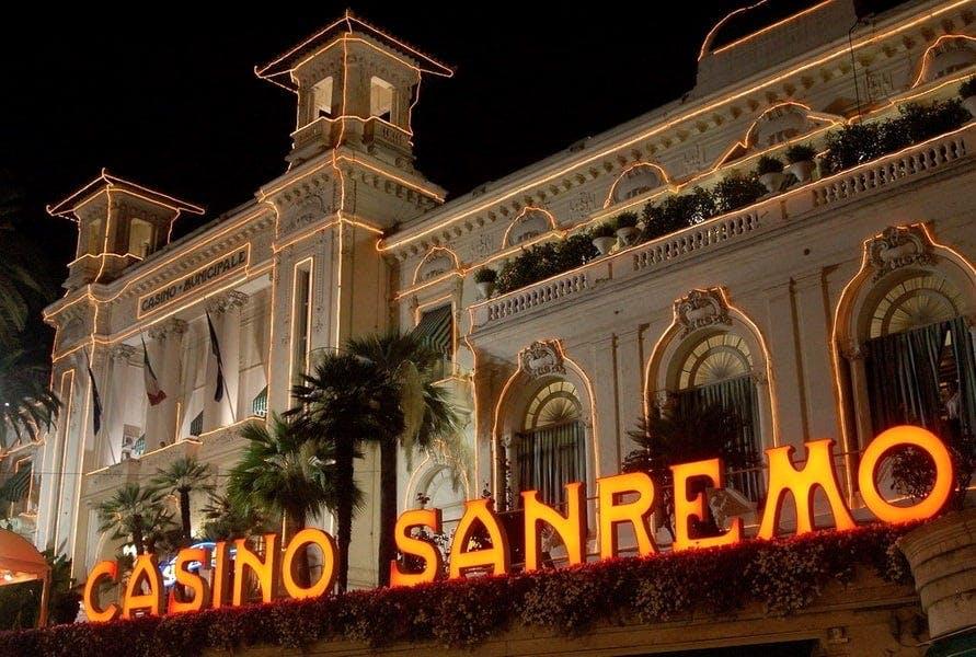 Il Casinò Municipale di Sanremo in Italia