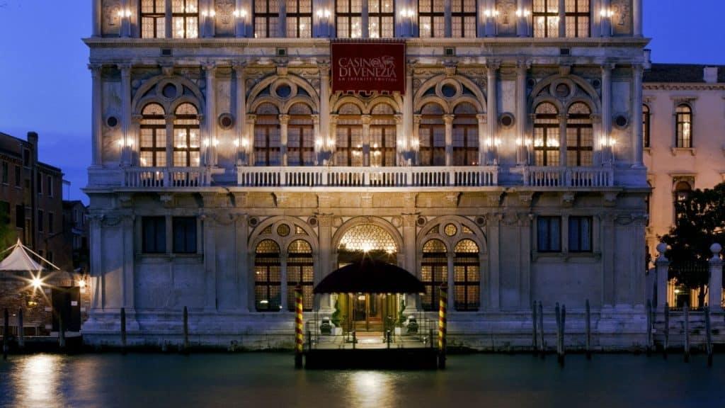 Il Casinò italiani di Venezia