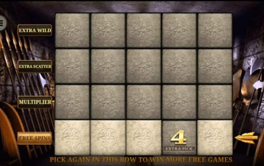 Oltre al gioco normale, a Gladiator hai la possibilità di vincere delle partite bonus
