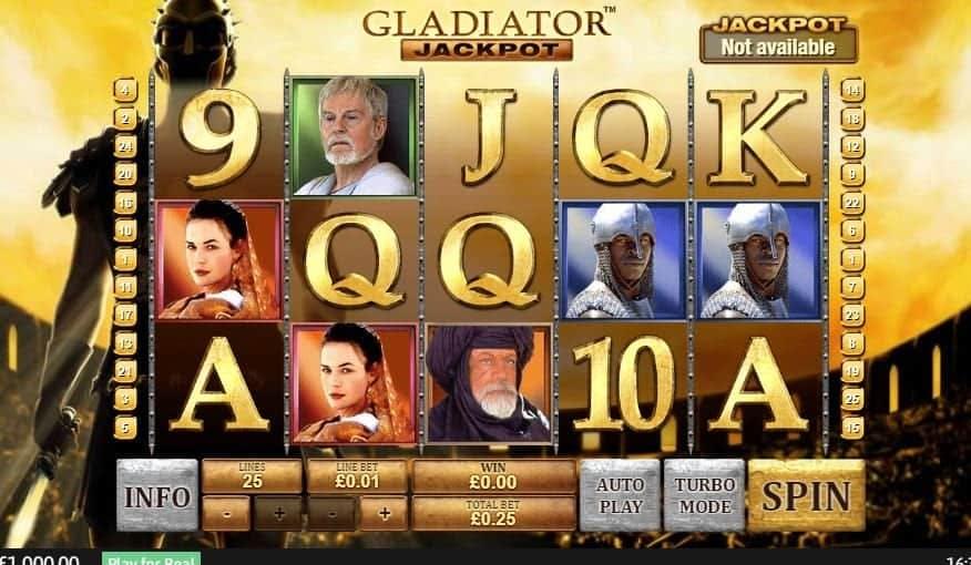 I simboli della slot online Gladiator