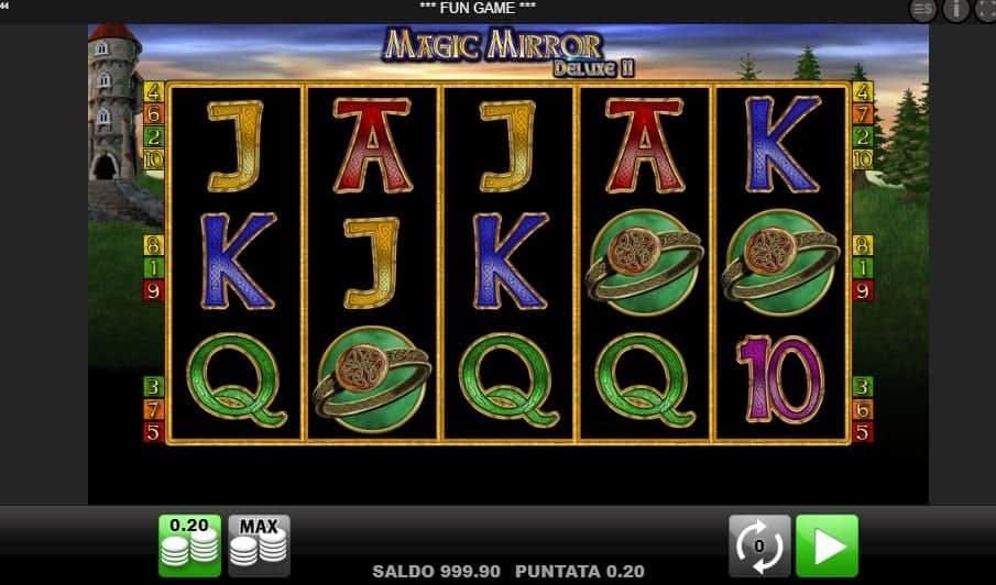 I simboli della slot online Magic Mirror Deluxe 2
