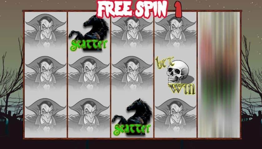Oltre al gioco normale, a Night Vampire hai la possibilità di vincere delle partite bonus