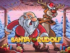 Santa vs Rudolph logo