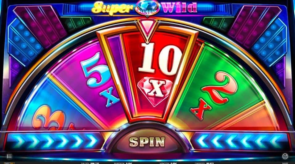 Oltre al gioco normale, a Super Diamond Wild hai la possibilità di vincere delle partite bonus