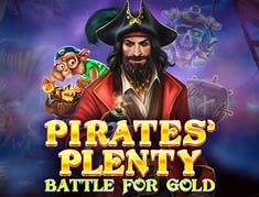Pirates Plenty Battle for Gold logo