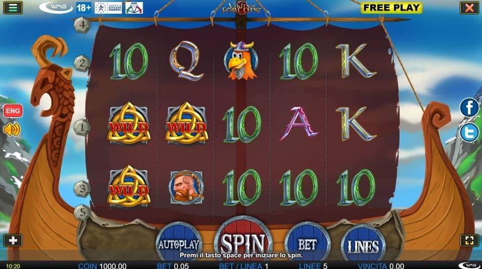 I simboli della slot online Vikings Fortune