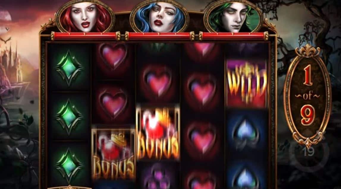 Oltre al gioco normale, a Blood Lust hai la possibilità di vincere delle partite bonus