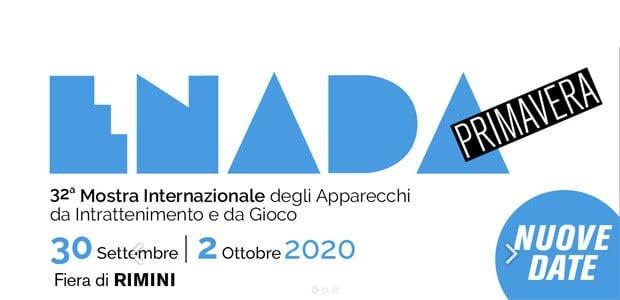 Enada Primavera 2020: si riparte il 30 settembre