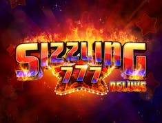 Sizzling 777 Deluxe logo