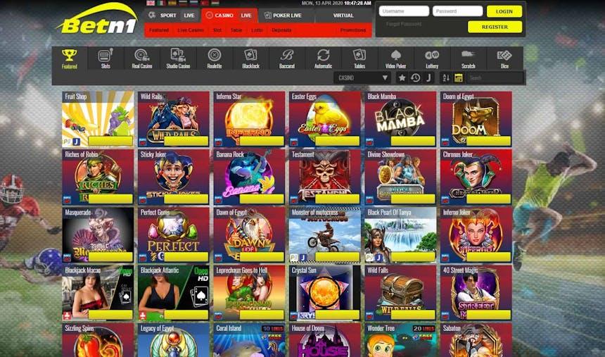Slot machines su Betn1