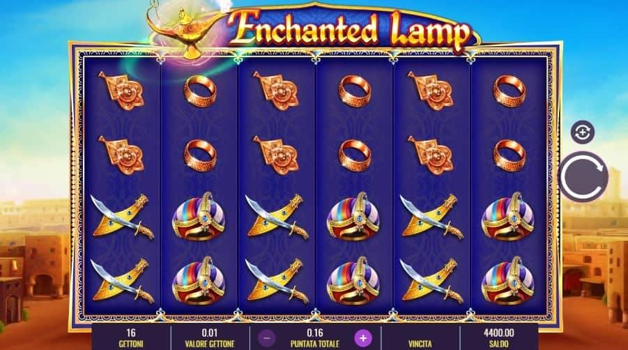 I simboli della slot online Enchanted Lamp