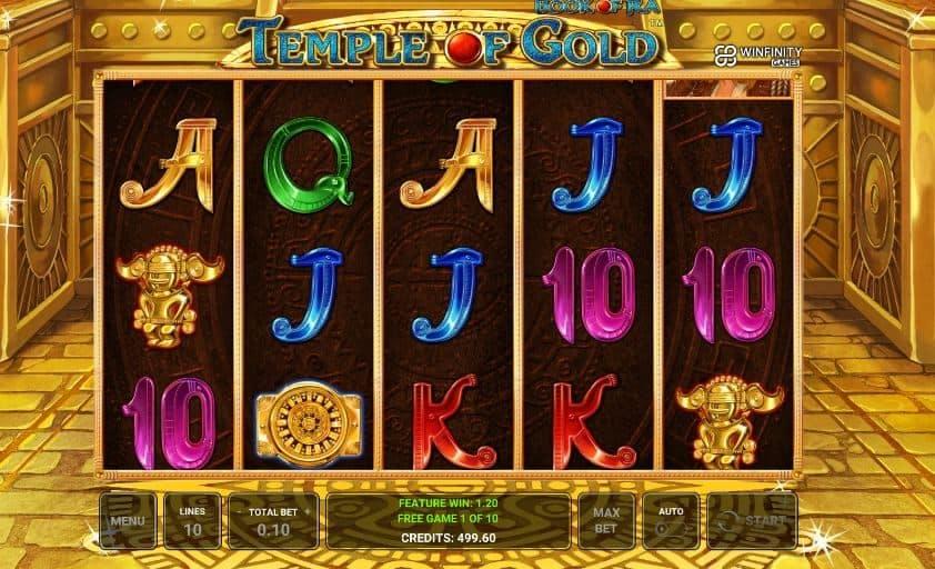Oltre al gioco normale, a Book of Ra Temple of Gold hai la possibilità di vincere delle partite bonus