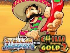 Stellar Jackpots with Chilli Gold x2 logo