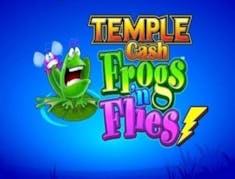 Temple Cash Frogs 'n Flies logo