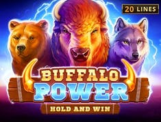 Buffalo Power Hold and Win logo