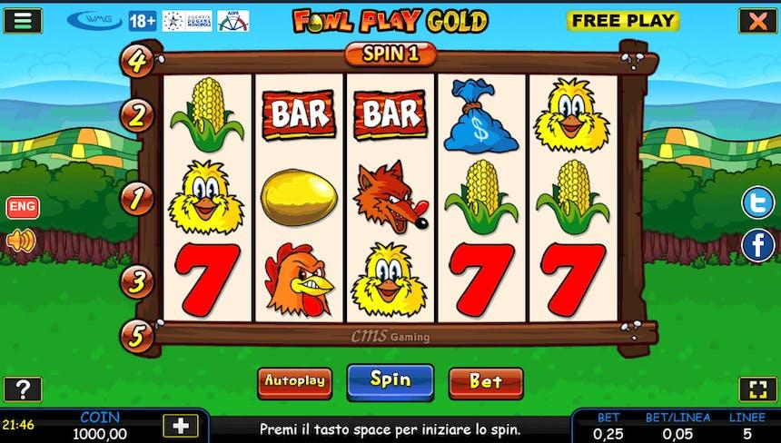 slot machine gallina online
