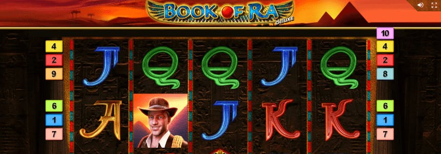 Book of Ra video slot online