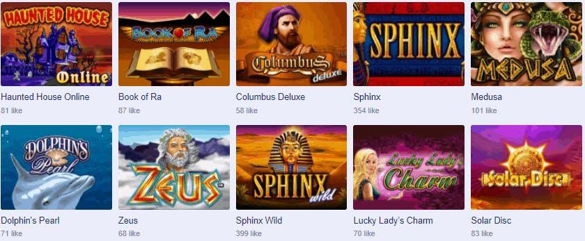Giocare alle slot machine da bar gratis