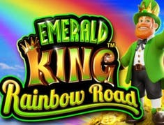 Emerald King Rainbow Road logo