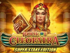 Book of Cleopatra Super Stake logo