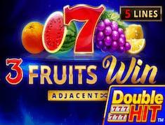 3 Fruits Win Double Hit logo