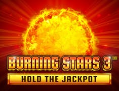 Burning Stars 3™ logo