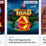 Le 3 nuove slot di Play'n GO rilasciate ad Aprile